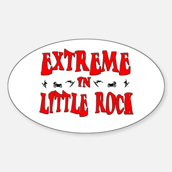 Extreme Little Rock Oval Decal
