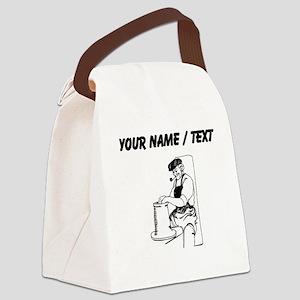 Potter (Custom) Canvas Lunch Bag