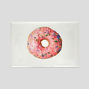 Pink Doughnut Magnets