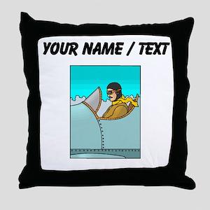Pilot (Custom) Throw Pillow