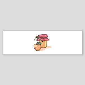 APPLE AND JAM Bumper Sticker