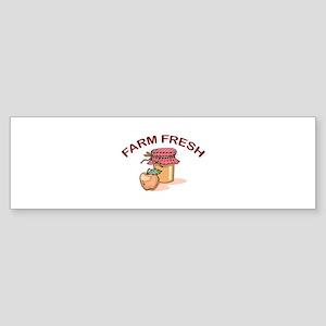 FARM FRESH Bumper Sticker