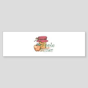 APPLE BUTTER Bumper Sticker