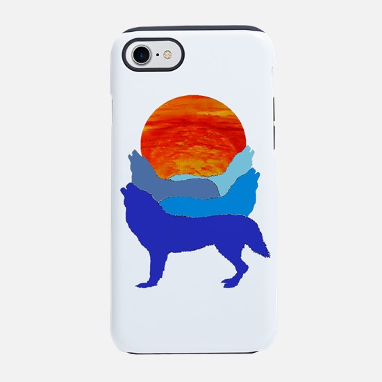 HOWL AT IT iPhone 7 Tough Case
