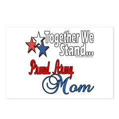 Proud Army Mom Postcards (Package of 8)