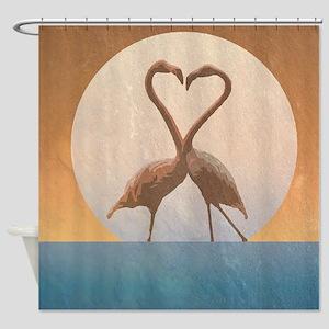 Flamingos Shower Curtain