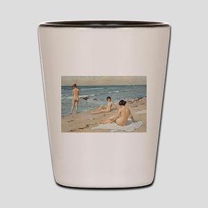 Classic nude art Shot Glass