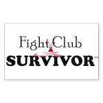 Fight Club Survivor Sticker