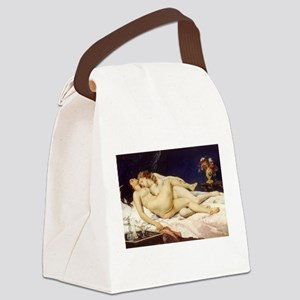 Classic nude art Canvas Lunch Bag