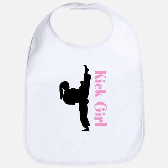 Martial Arts Girls Bib