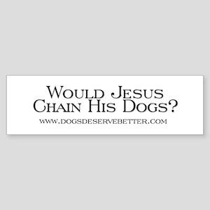 Would Jesus Chain (bumper) Bumper Sticker
