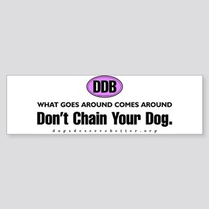 Goes Around (bumper) Bumper Sticker