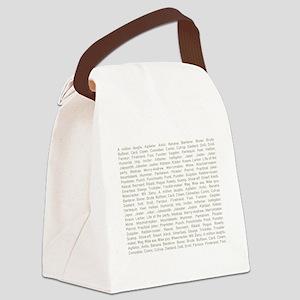 A Million Laughs Canvas Lunch Bag