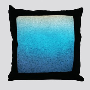 108872005 Sea Glass Throw Pillow