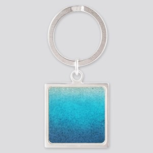 108872005 Sea Glass Square Keychain