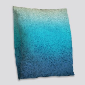 108872005 Sea Glass Burlap Throw Pillow