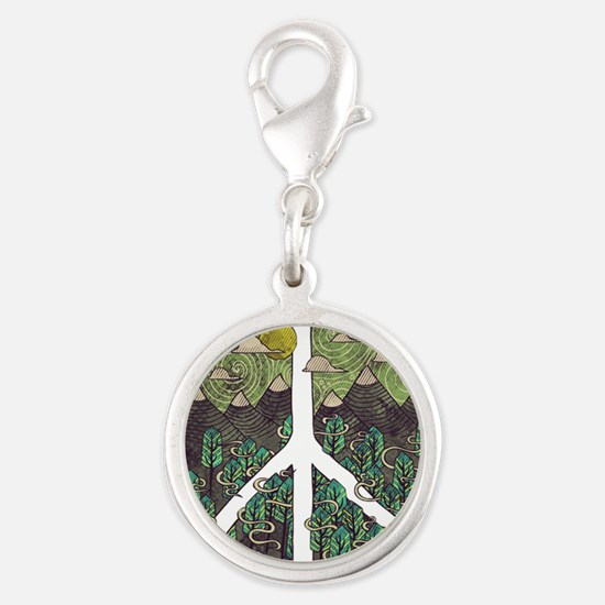 Mountain Peace Charms