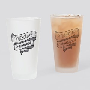 Mischief Managed Drinking Glass