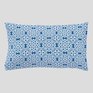 Dazzling Blue & White Lace 2 Pillow Case
