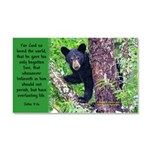 Baby Black Bear - John 3:16