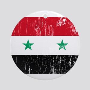 Vintage Syria Ornament (Round)