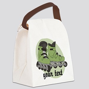 Personalized Rollerblade Canvas Lunch Bag
