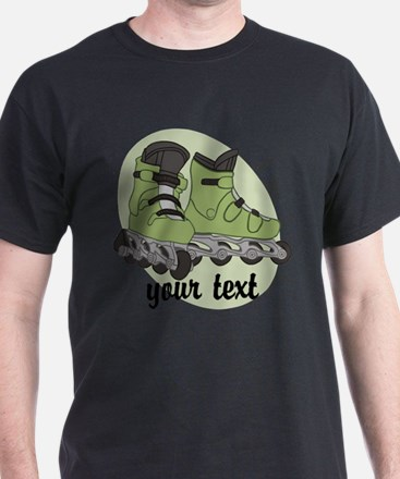 Personalized Rollerblade T-Shirt