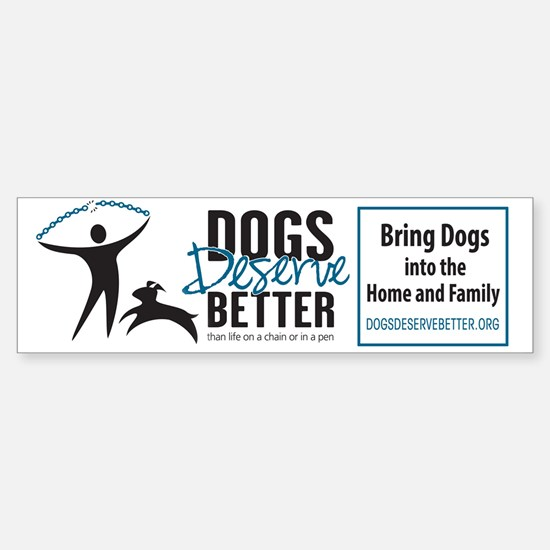 Ddb Logo Art Bumper Bumper Bumper Sticker