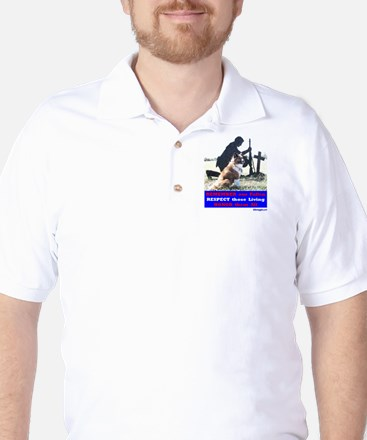 Remember our Fallen (for white shirts) Golf Shirt