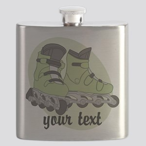 Personalized Rollerblade Flask