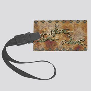 Copper Pony Large Luggage Tag