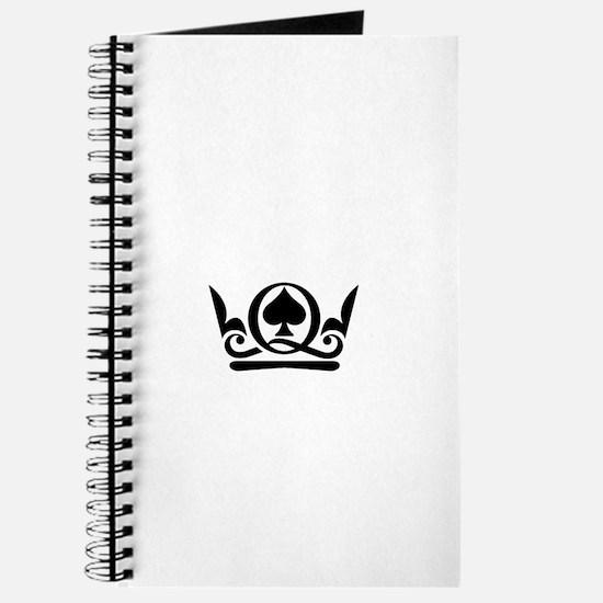 Queen of Spades Crown 02 Journal