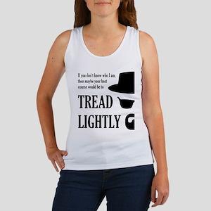 BREAKINGBAD TREAD LIGHTLY Tank Top