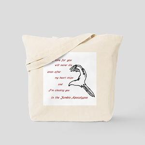 Zombie Love Tote Bag