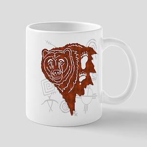 bear tracks Mugs