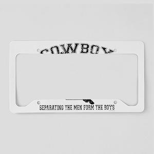 Cowboy U License Plate Holder