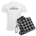 Fight Club Survivor Breast Men's Light Pajamas