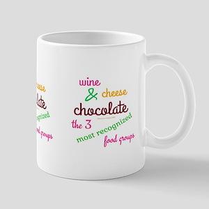 3 Best Food Groups Mugs