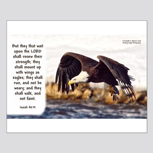 Mount on Wings as Eagles (left) - Isaiah 40:31 Pos