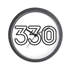 330 Wall Clock