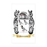 Jannequin Sticker (Rectangle 50 pk)