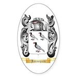 Jannequin Sticker (Oval)