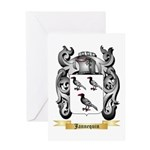 Jannequin Greeting Card