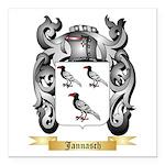 Jannasch Square Car Magnet 3
