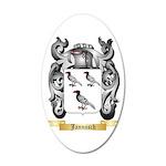 Jannasch 20x12 Oval Wall Decal