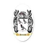Jannach Oval Car Magnet