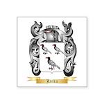 Janku Square Sticker 3