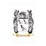 Janku Sticker (Rectangle 50 pk)