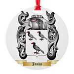 Janko Round Ornament