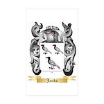 Janko Sticker (Rectangle 50 pk)